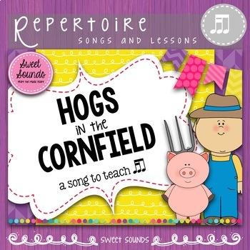 Hogs in the Cornfield {Prepare and Present Takadi}