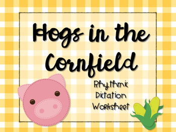Hogs in the Cornfield Worksheet