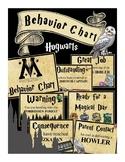 Hogwarts Behavior Chart (Harry Potter, Wizards)