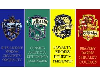 Hogwarts Bookmarks