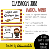 Hogwarts Classroom Jobs (Class Helpers and Leaders) in Eng