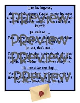 Hogwarts Express Classroom Transformation Activity