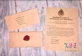 Hogwarts Homeschool Acceptance Letter