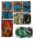 Hogwarts House Labels