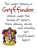 Hogwarts House Mottos Posters