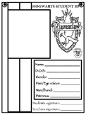 Hogwarts House Student ID Cards