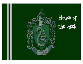 Hogwarts House of the Week Desk Mats