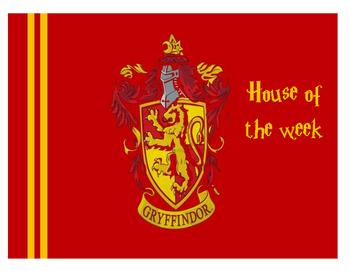 Hogwarts House of the Week Desk Mats