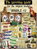 Hogwarts, Wizard, Harry Potter, Magic Classroom Decor 77 Page BUNDLE #2