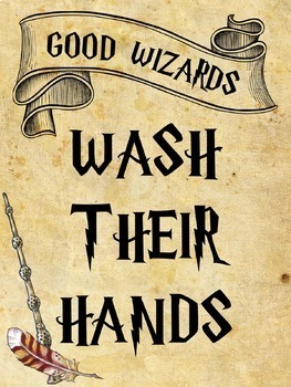 Hogwarts, Wizard, Harry Potter, Magic Classroom Decor 77 Page BUNDLE #2