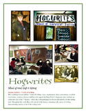 Hogwrites School of Word Craft and Editing -- 7 Writing Traits Stations Unit