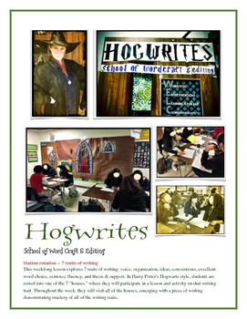 Hogwrites School of Word Craft and Editing -- 7 Writing Tr