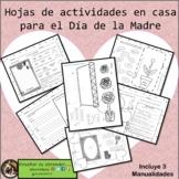 Día de la Madre - Elaboraciones en casa / Mother's Day craft for home Spanish