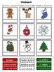 Hojas de trabajo de Navidad Invierno a color Spanish Christmas Pack Worksheets
