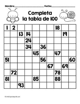 Hojas y centros de matemáticas para abril -Primer Grado (Spanish Math)