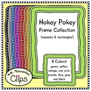 Hokey Pokey Frame Collection (squares and rectangles)