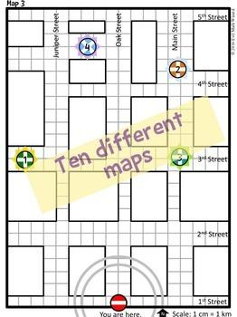 Hoki Poki Go Mapping Game - Plan the route to find the awards