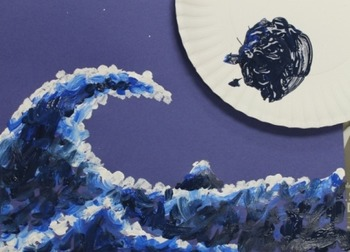 "Hokusai's ""The Great Wave off Kanagawa"" Lesson Plan for 3rd-5th Grade"