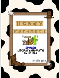 Spanish Howdy Pardner Literacy and Math Fun Activities!