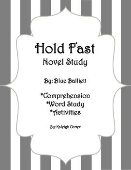 Hold Fast Novel Study