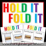 Hold It! Fold It! FREEBIE