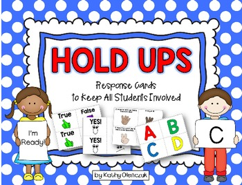 Hold Ups - Response Cards to Keep All Students Involved
