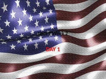 Hold the Flag High, 5th Grade, U2W2 Reading Street, Powerp
