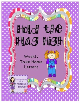 Hold the Flag High Weekly Take Home Letters (Scott Foresman Reading Street)