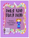 Hold the Flag High Weekly Take Home Letters (Scott Foresma