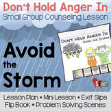 Anger Activities: Anger Management Flip Book, Problem Solving Scenes, MiniLesson