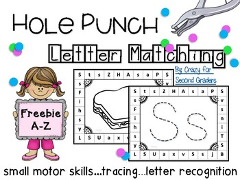 Hole Punch Letter Recognition