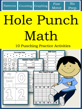 Hole Punch Math Activities