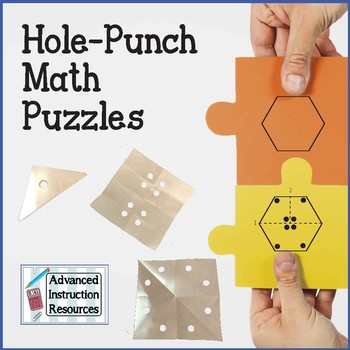 Hole Punch Math Puzzles