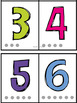 Hole Punch Number Cards