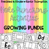 Hole Punching Activities GROWING BUNDLE