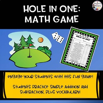 Hole in One Math Game