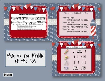 Hole in the Middle of the Sea - Nautical Folk Song with Rhythmic Accompaniment