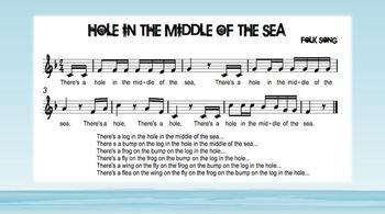 Hole in the Middle of the Sea rhythm practice