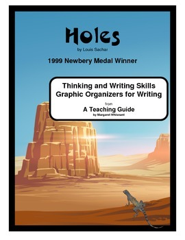 Holes  Thinking Skills and Graphic Organizers for Writing