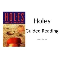 Holes Adapted Unit Powerpoint Formate