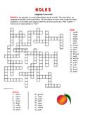 Holes: Anagram Crossword—Unique Spelling Workout!