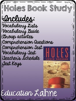 Holes Book Study