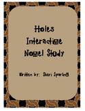 Holes Book Study Literature Circle Unit Drama Activities