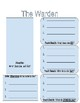 Holes Character Notes - Guided Graphic Organizers