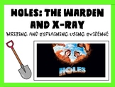 Holes -Character Study, Letter Writing, PEE Paragraphs (Editable)