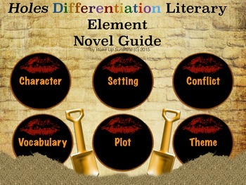 Holes Differentiation Literary Element Novel Guide