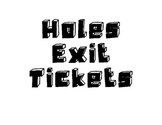 Holes Exit Ticket