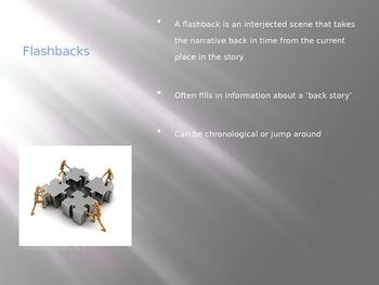 Holes - Flashbacks Exploration Powerpoint
