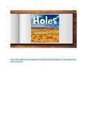 Holes Google Slides Digital and Paperless