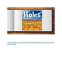 Holes Google Slides Digital and Paperless